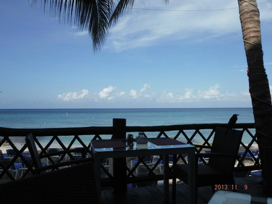 Sunscape Sabor Cozumel: View for breakfast