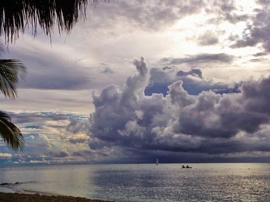 Sunscape Sabor Cozumel : Lot of storms moving thru made for great pictures!