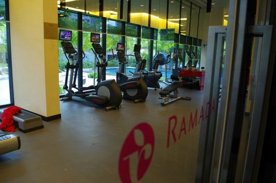 The gym room picture of ramada by wyndham singapore at zhongshan