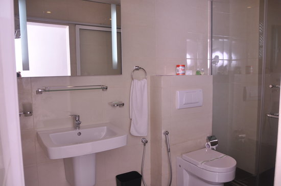 Olympus Plaza Hotel: The New Wash rooms