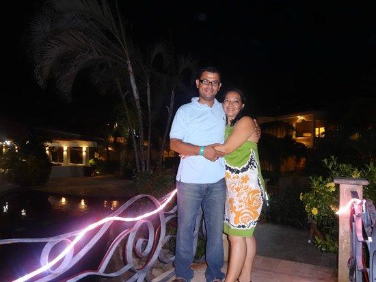 Mayan Princess Beach & Dive Resort: mi esposa