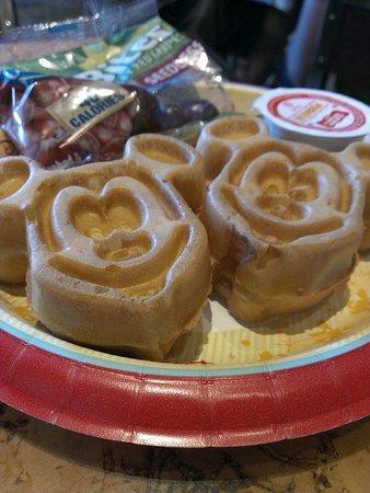 Mara: mickey waffles