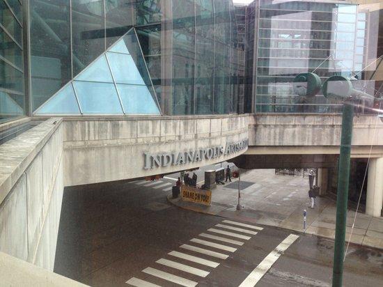 Hyatt Regency Indianapolis: Skywalk
