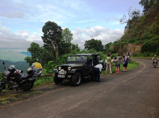 Original Easy Rider Vietnam: Combine Jeep and Motorcycle tour: Mui Ne - Hoi An. In Central Highlands