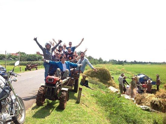 Original Easy Rider Vietnam: Group of 8 Australian, so much fun