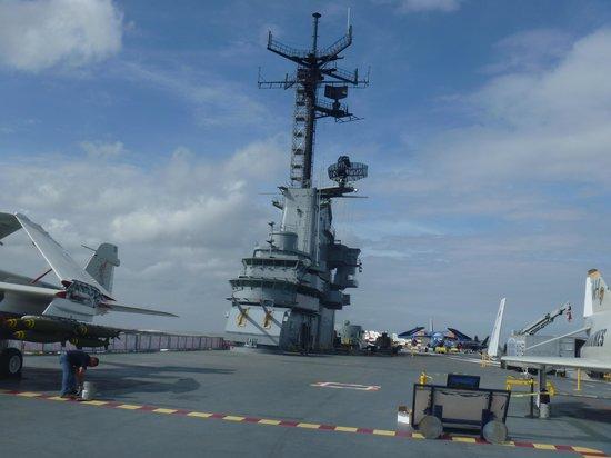USS LEXINGTON : on the ship