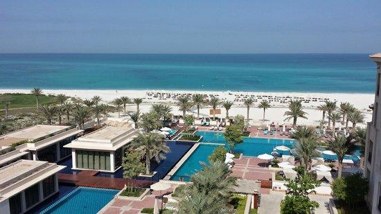 The St. Regis Saadiyat Island Resort : View from the room