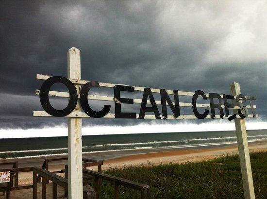 Ocean Crest Motel: Beach Area