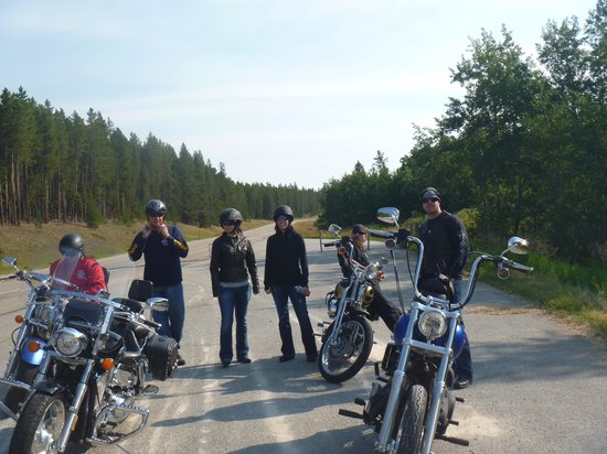 Buffalo Bill National Scenic Byway: great day on bikes