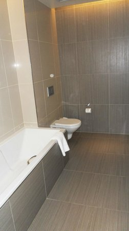 Southern Sun Hyde Park Sandton: Tub and Toilet
