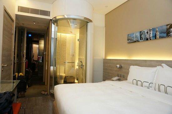 Lodgewood by L'hotel Mongkok Hong Kong: room view