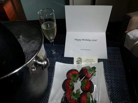 Hyatt Regency Greenwich: My birthday gift