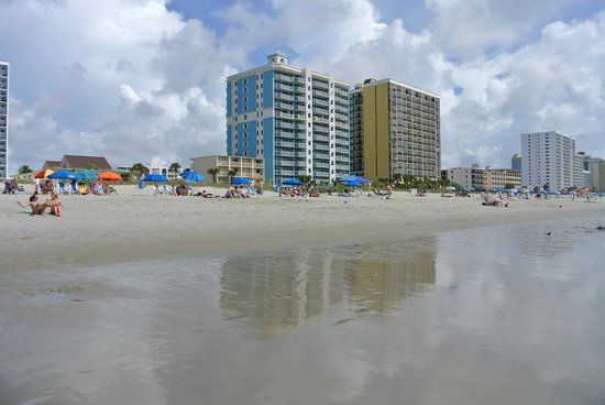 Super 8 Myrtle Beach/Ocean Front Area: Пляж