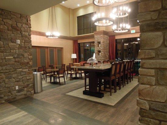 Hampton Inn & Suites Springdale Zion National Park : Lobby/Breakfast Area