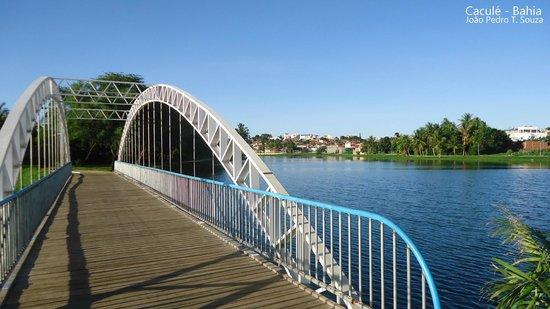 Cacule, BA: Caculé - Lagoa Manoel Caculé