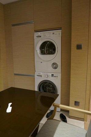Fraser Suites Guangzhou: washing adn drying machine