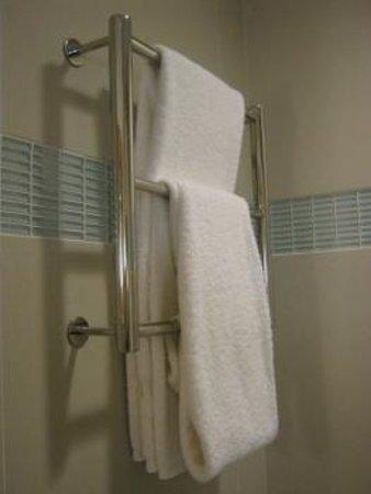 Hilton Garden Inn Los Angeles Marina Del Rey: Towel holder