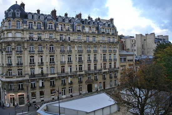 Hôtel Observatoire Luxembourg : View from the room window