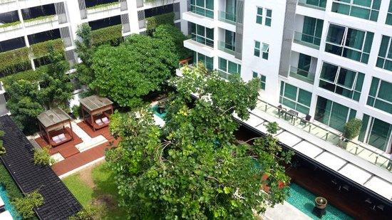 Amari Residences Bangkok: Courtyard