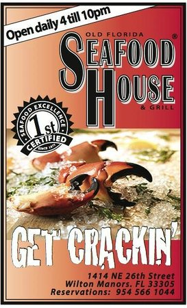 Old Florida Seafood House: Woohoo!