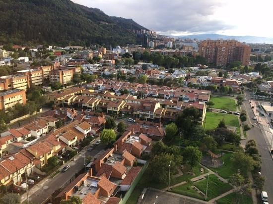 NH Collection Bogota Royal Teleport: View from 14th Floor, Radisson Royal