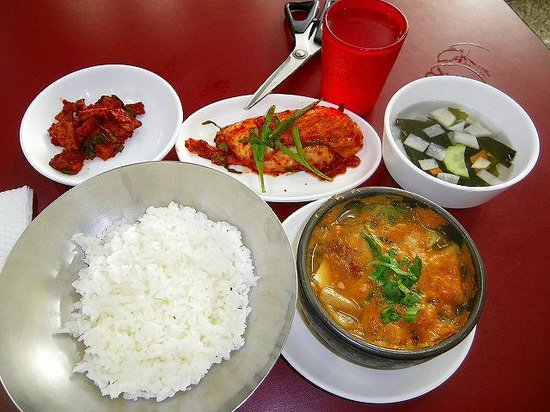 Dolphin Silky Tofu: テンジャンチゲ定食