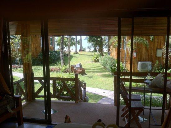 K.B. Resort: Vue bungalow