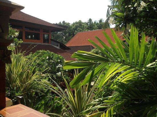 Puri Santrian: balcony view 2