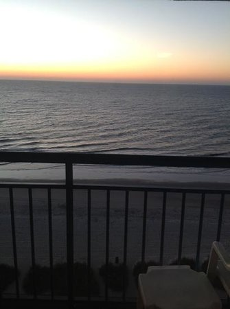 Coral Beach Resort & Suites: View from 11th floor... beautiful sunrises!