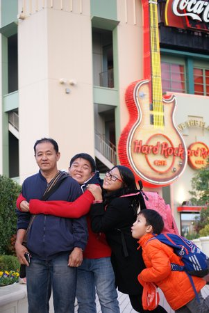 Hard Rock Cafe Universal Citywalk Osaka : original