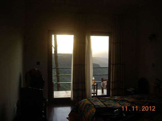 Cliff Edge Hotel - Lalibela: Room with a view