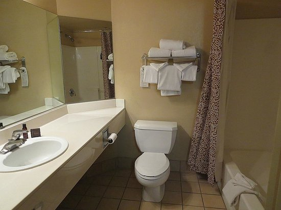 The Grand Hotel at the Grand Canyon : nice bathroom