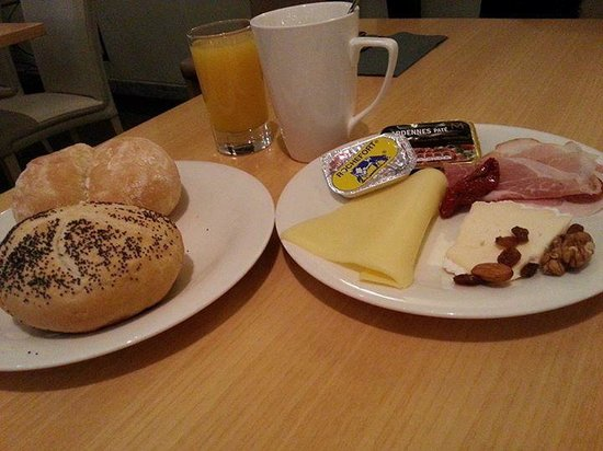 Holiday Inn Hasselt: tasty breakfast