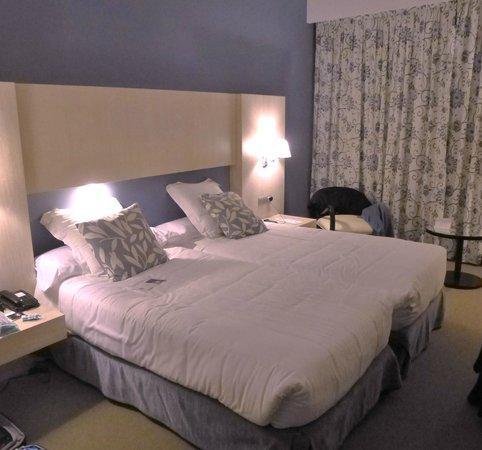 Hotel Nuevo Boston: habitacion