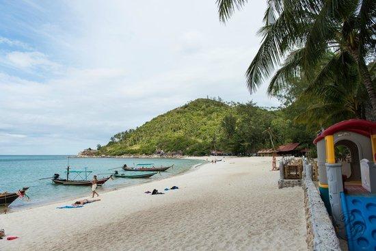 Haad Khuad Resort: Strand