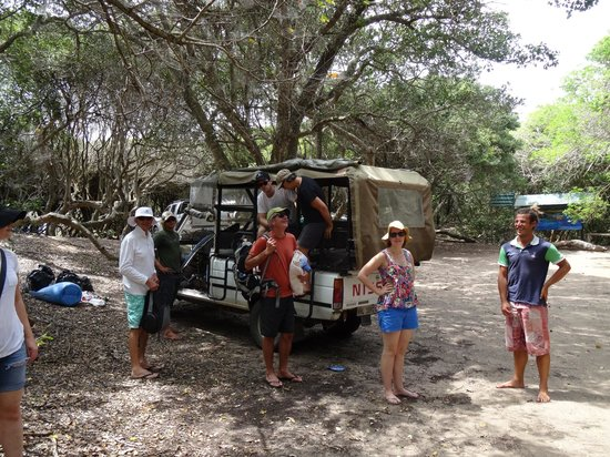 Extreme Nature Tours and Travel Day Tours: Open topped vehicle in which we travelled a lot of the time
