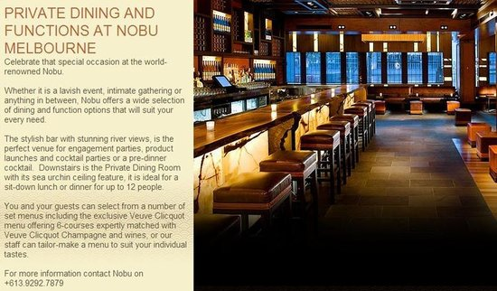 Japanese restaurants crown casino melbourne
