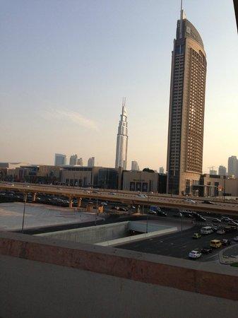 Roda Al Murooj: View from romm balcony