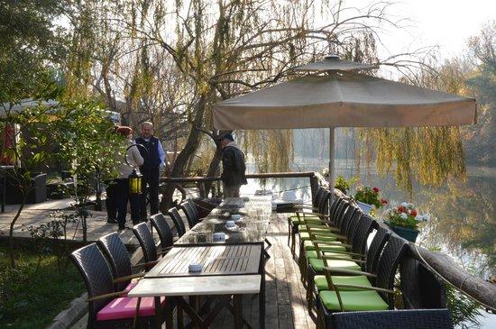 Park Mandalin: teras