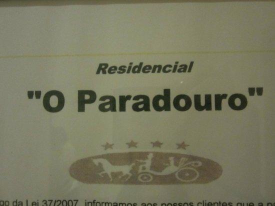 Residencial O Paradouro : guide in room