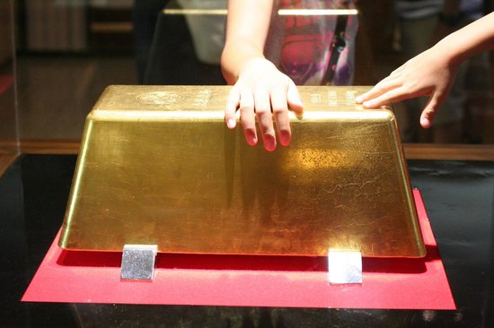 Toi Kinzan: 世界最大の金塊