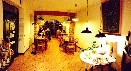 Osteria Molin del Brolo: Il locale offre cucina per celiaci