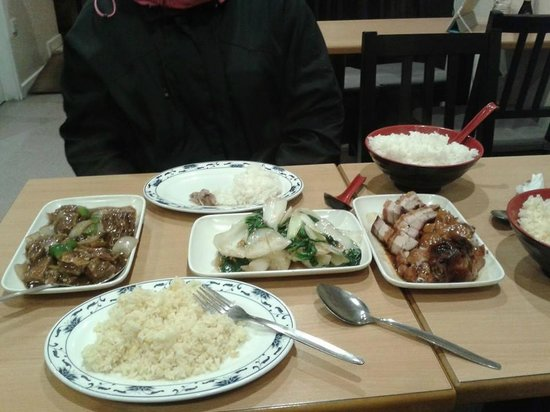 Red Horse Tea Bar: Meal for 2