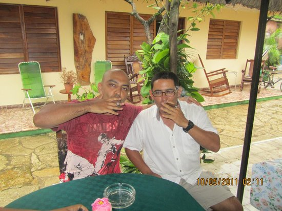 Hostal Daniel y Vivian: Humble owner