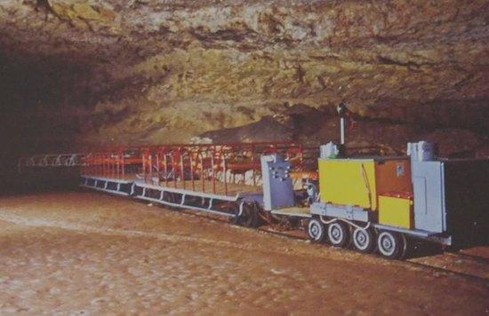 Grotte de Rouffignac: le petit train