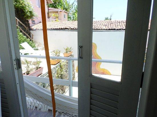 Solar Das Artes Pousada Boutique - Morro: Varanda do quarto