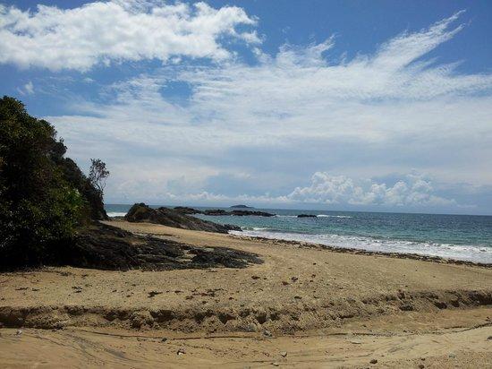 Smugglers on the Beach : Beautiful beach