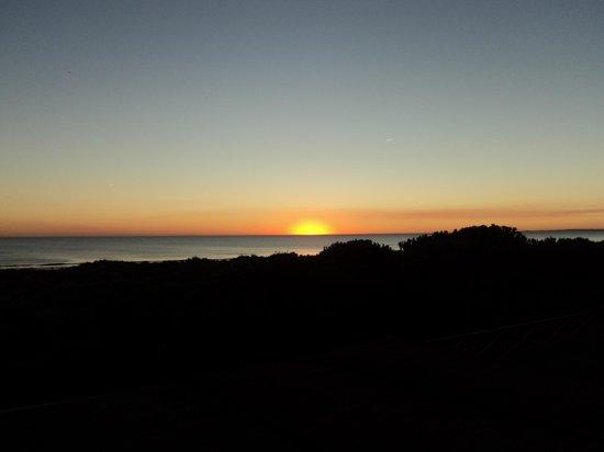 Barcelo Punta Umbria Mar: Abendkulisse vom Balkon