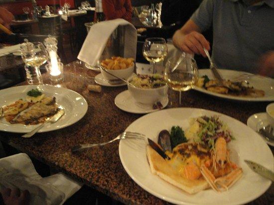 Lucius Seafood Restaurant: ужин