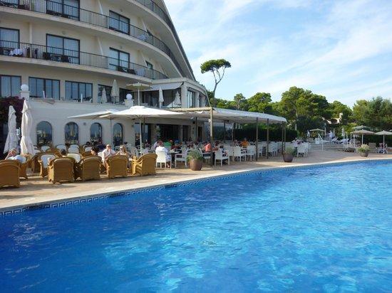 Sensimar Aguait Resort & Spa: Poolrestaurant